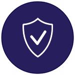 Icona servizi di sicurezza per le aziende
